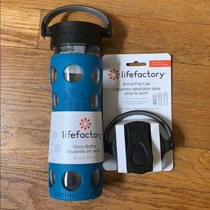 NWT Lifefactory glass bottle 16 oz | 475 ml